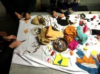Communal sewing
